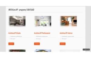 Odświeżona strona www ARCHlineXP - oferta oprogramowania