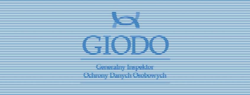 Obowiązek zgłaszania zbioru danych na stronie www do GIODO