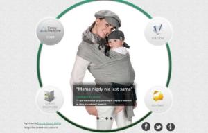 Strona www marki Family Medicine - strona startowa
