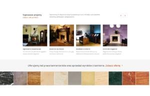 Nowa strona www Kominki Witkowski - portfolio