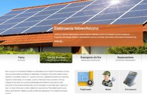 Strona www NYCEK Fotowoltaika - megaslider
