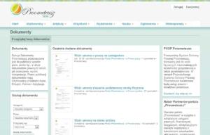 Portal Proometeusz - dokumenty
