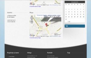 Strona www NZOZ Starmed - kontakt