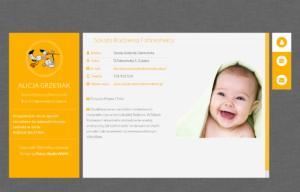 Szkoła Rodzenia Fahrenheita - strona wizytówka projektu Entera Studio WWW