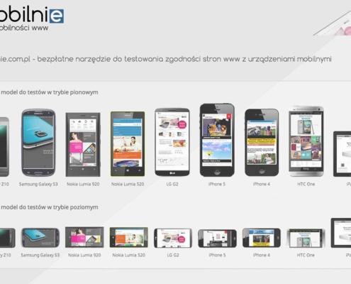 Entera Studio WWW przedstawia mobilnie.com.pl - test mobilności stron www