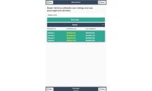 Aplikacja mobilna BMI Kalorie Tablice żywienia - stoper sportowy