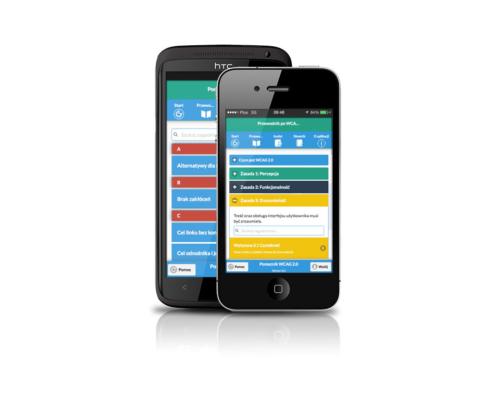 Aplikacja mobilna Pomocnik WCAG 2.0