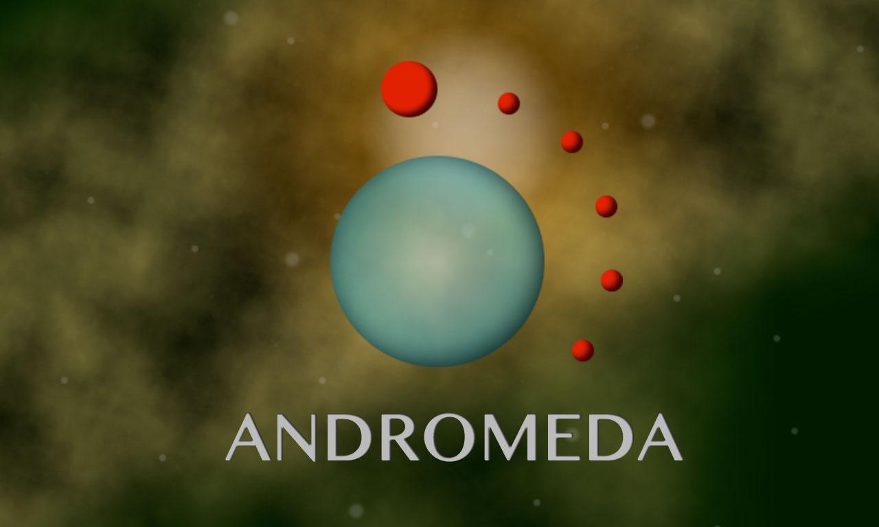 Andromeda Meteors - mobilna gra Entera Studio WWW