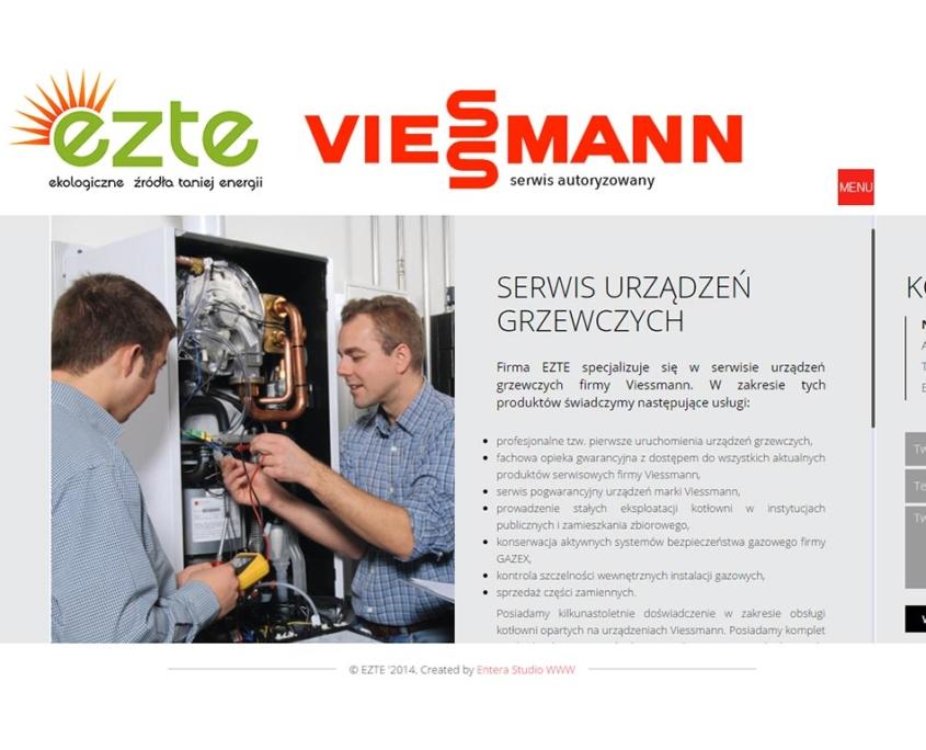 EZTE - strona www pełna energii - oferta