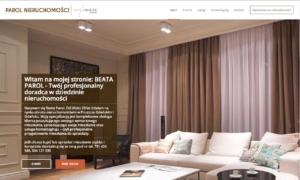 Strona www Parol House - strona startowa