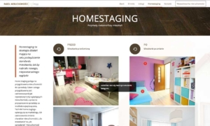 Strona www Parol House - homestaging