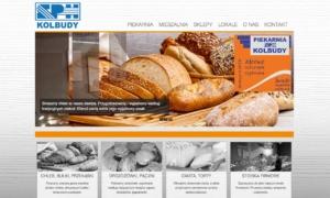 Strona www SPH Kolbudy - piekarnia