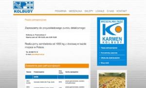 Strona www SPH Kolbudy - mieszalnia pasz