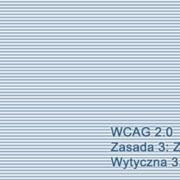 Kompendium WCAG 2.0: Wytyczna 3.1 Czytelność