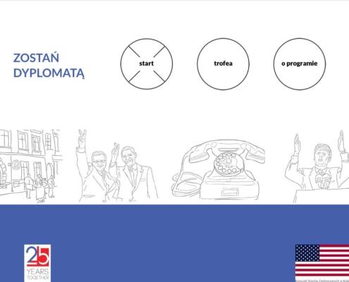 Zostań Dyplomatą - gra dla systemu iOS - start