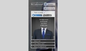 Aplikacja mobilna M.Underwood - wersja iPhone 6