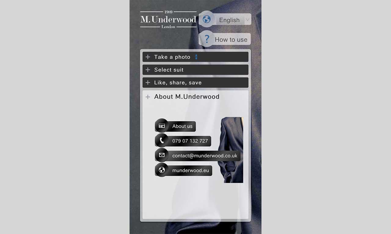 Aplikacja mobilna M.Underwood - wersja Android