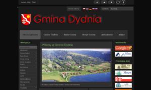 Strona WCAG 2.0 Gminy Dydnia - tryb nocny