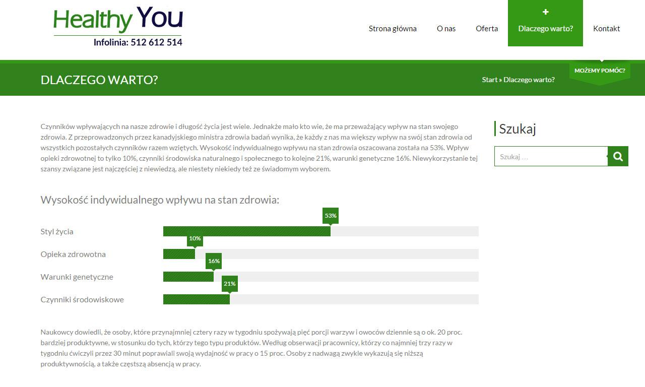 Strona www firmy HeYou Szkolenia autorstwa Entera Studio WWW - oferta