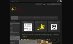 Strona WCAG 2.0 Szpitala w Końskich - układ nocny