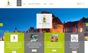 Strona Tourist Point Gdańsk autorstwa Entera Studio WWW - strona główna