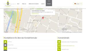 Strona Tourist Point Gdańsk autorstwa Entera Studio WWW - kontakt