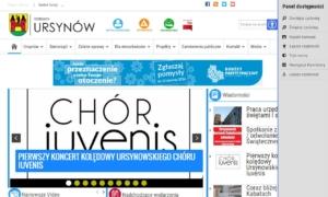 Ursynów.pl zgodny ze standardem WCAG 2.0 - warstwa podstawowa