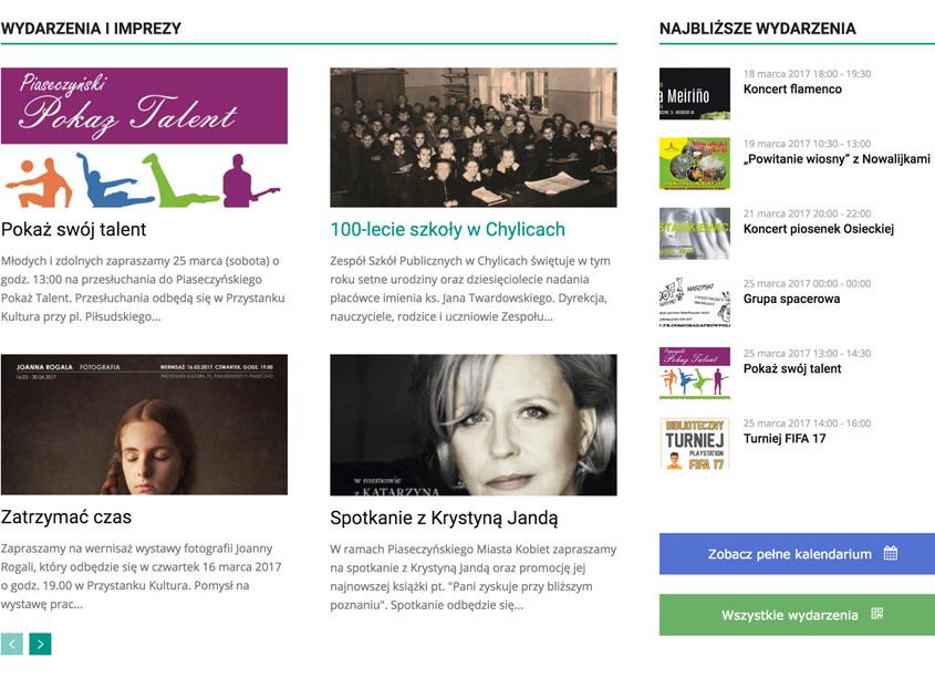 Portal miejski samorządu Gminy Piaseczno.