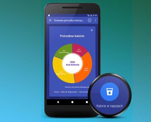 Aplikacja BMI, Kalorie i Tablice Żywienia w nowej wersji oferuje jeszcze więcej