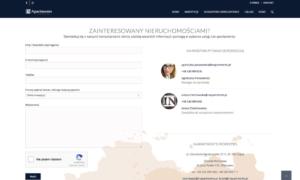 Wizerunkowa strona WWW dla INAPartments