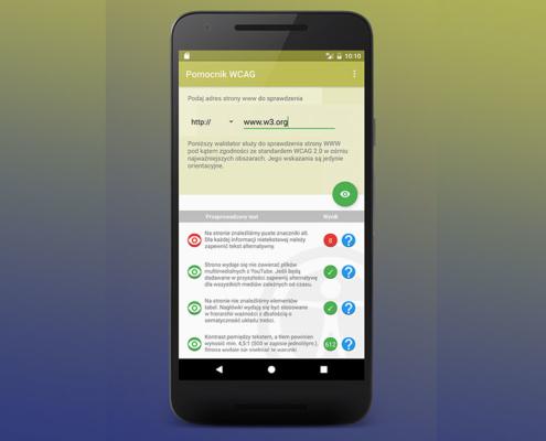 Pomocnik WCAG 2.0 to aplikacja pomagająca zrozumieć WCAG 2.0