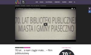 Portal informacyjny Biblioteki Publicznej Gminy Piaseczno
