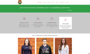 Strona www Młodzieżowej Rady Gminy Piaseczno
