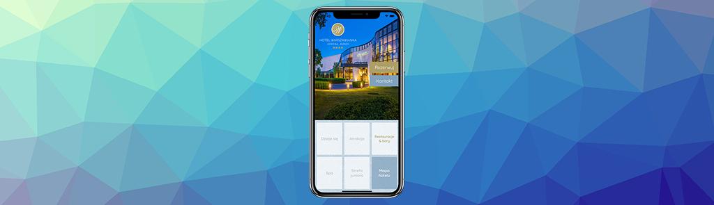 Aplikacja Hotelu Warszawianka dla iPhone i telefonów z Androidem