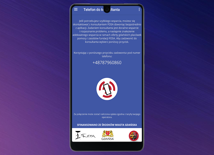 Pierwsza w Polsce aplikacja na rzecz wsparcia osób z zaburzeniami psychicznymi.