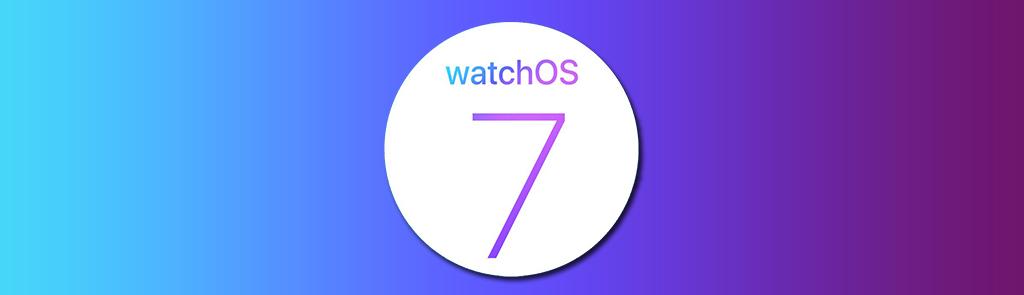watchOs 7 - nie zmienia nic