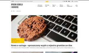 Portal Wydziału Geodezji i Katastru Powiatu Piaseczyńskiego - sekcja aktualności