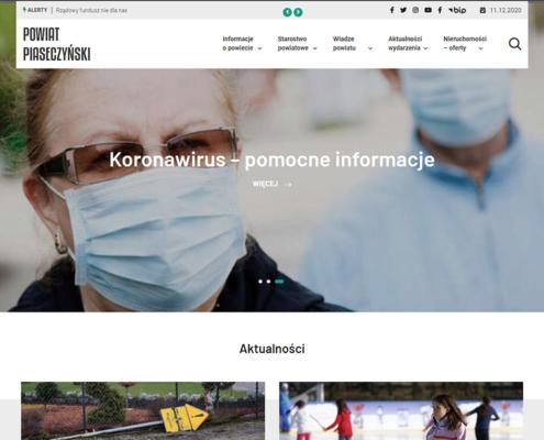 Portal Powiat Piaseczyński - strona główna