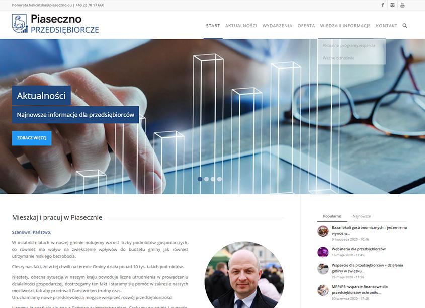 Portal Przedsiębiorcze Piaseczno - strona główna