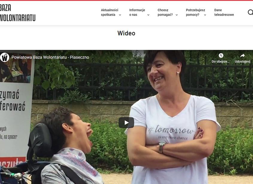 Portal Baza Wolontariatu Powiatu Piaseczyńskiego - multimedia